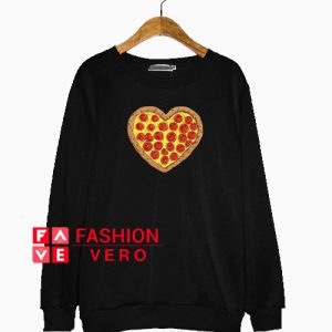 Pizza Valentines Day Sweatshirt
