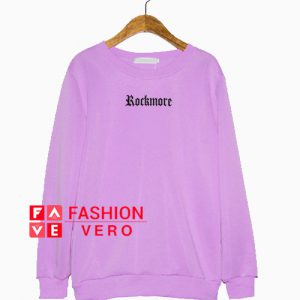 Rock More Purple Sweatshirt