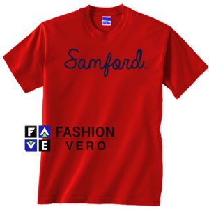 Samford University Red Unisex adult T shirt
