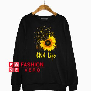Sunflower CNA life Sweatshirt