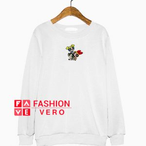 The Powerpuff Girls Print Sweatshirt