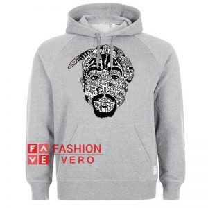 Tupac 2 Pac All Eyez On Me HOODIE - Unisex Adult Clothing