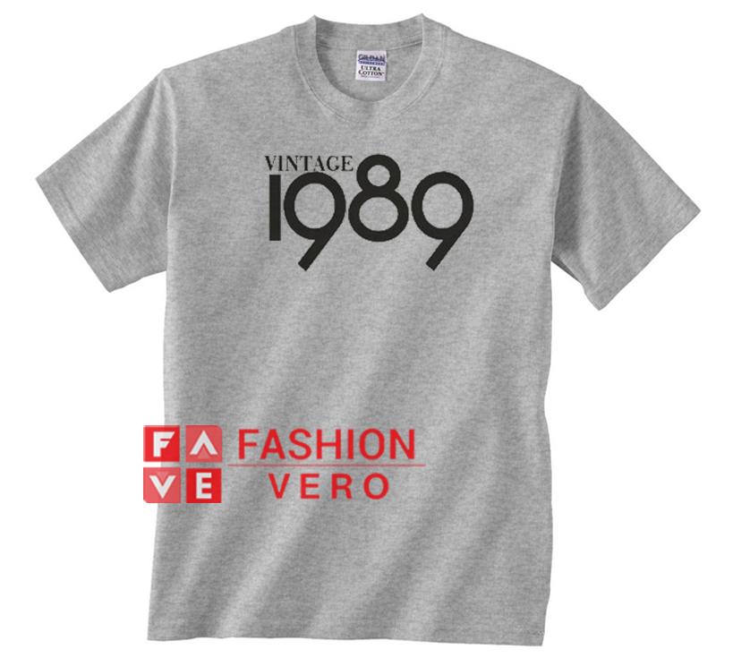 786c8a2c Vintage 1989 Unisex adult T shirt