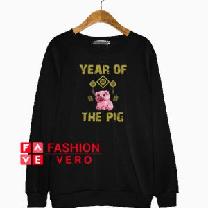 Year of the Pig Yellow Sweatshirt