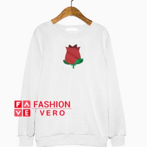 red rose cartoon Sweatshirt