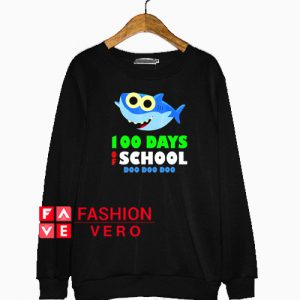 100 Days Of School Baby Shark Doo Do Sweatshirt