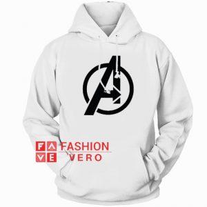 Avengers Logo HOODIE - Unisex Adult Clothing