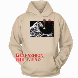 Japanese Wave HOODIE - Unisex Adult Clothing
