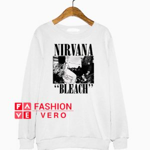 Night Channels Nirvana Bleach Sweatshirt