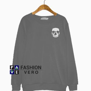 Skeleton Face Sweatshirt