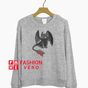 Toothless Night Fury Inspired Dragon Sweatshirt