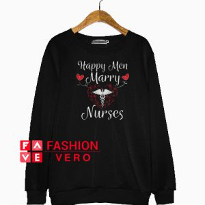 Valentines Day Happy Nurses Husband Caring Sweatshirt
