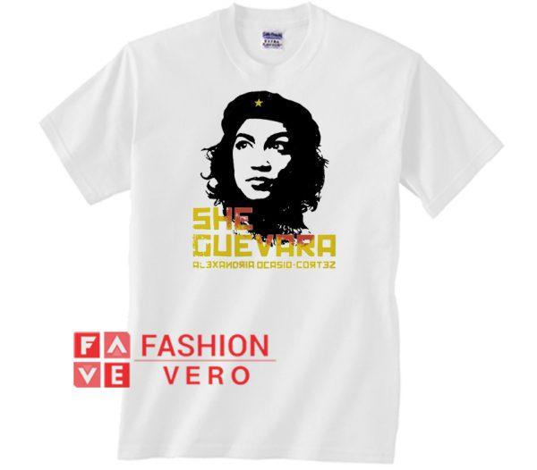Che Guevara Alexandria Ocasio Cortez Unisex adult T shirt