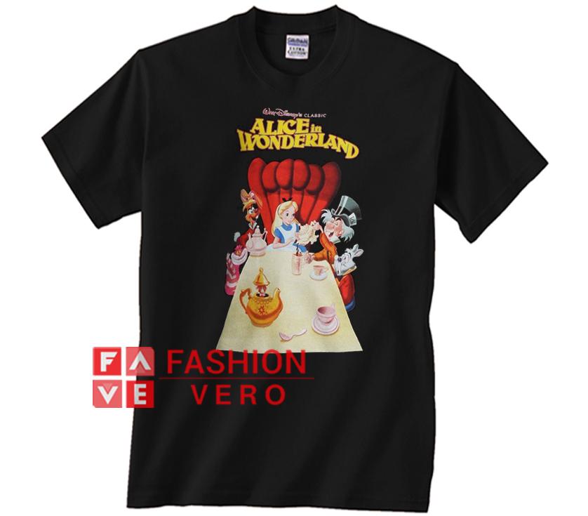 f07ddd5f Disney Alice In Wonderland Tea Party Unisex adult T shirt ...