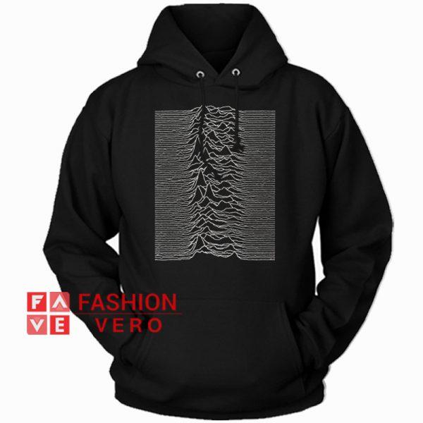 Joy Division Unknown Pleasures HOODIE Unisex Adult Clothing