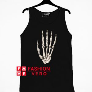 Skeleton Hand Tank top