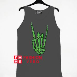 Skeleton Hand Rock Tank top