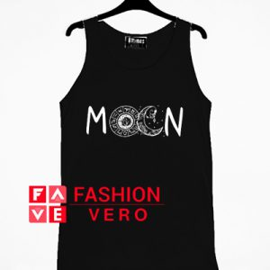 The Art of Layers Moon Tank top