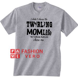 twirling momlife Unisex adult T shirt