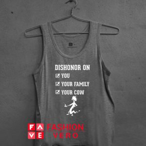 Dishonor On You Tank top