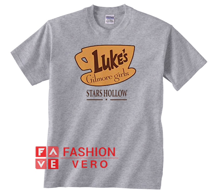a301647d Gilmore Girls Luke's Diner Stars Hollow Logo Unisex adult T shirt