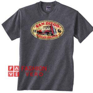 San Diego California 1850 Unisex adult T shirt