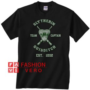 Slytherin Quidditch Team Captain Unisex adult T shirt