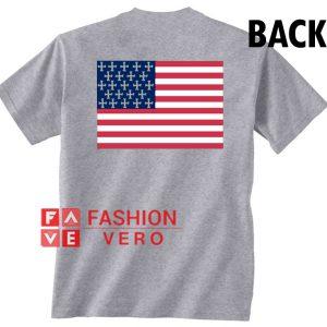 United States Cross Flag Unisex adult T shirt