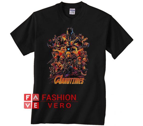 Avengers My Hero Academia Aarotimes Unisex adult T shirt