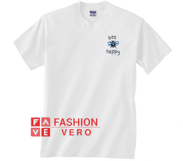 Bee Happy Unisex adult T shirt