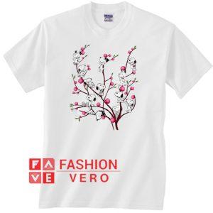 Snoopy on Peach Tree Unisex adult T shirt