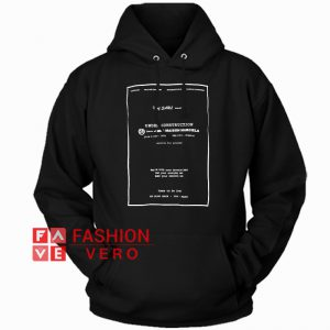 Under Construction HOODIE - Unisex Adult Clothing