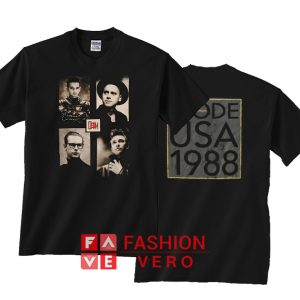 Depeche Mode 101 Poster Unisex adult T shirt