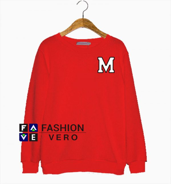 M For Mickey Mouse Sweatshirt