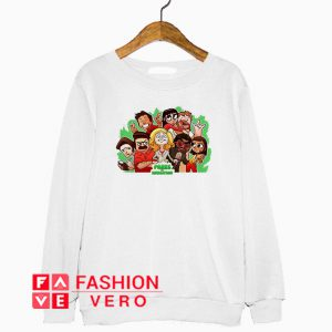 Parks and Recreation character chibi Sweatshirt