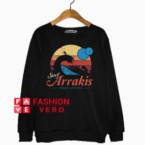 Surf Arrakis house atreides vintage Sweatshirt
