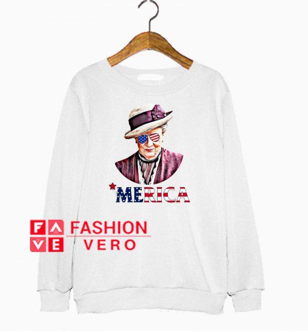 Violet Crawley Independence day merica Sweatshirt