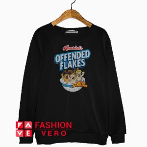 America'S Offended Flakes they're Ob-Nox-Lous Sweatshirt