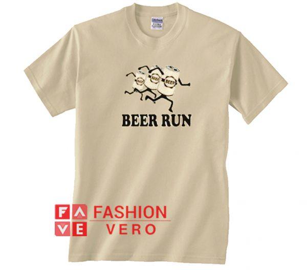 Beer Run Unisex adult T shirt