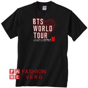 Bts World Tour Unisex adult T shirt
