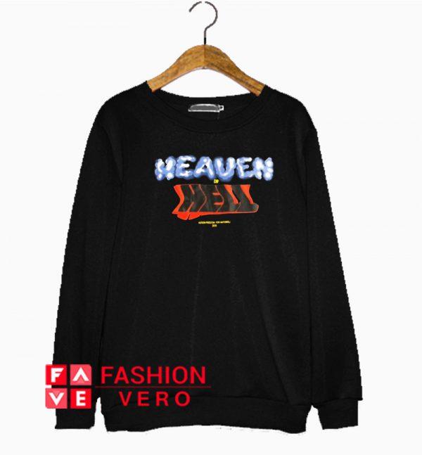 Heron Preston Heaven Or Hell Sweatshirt