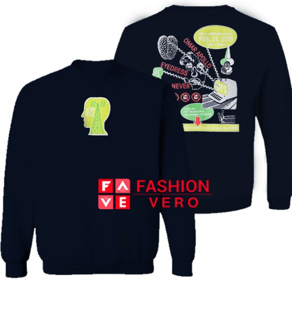 NTS x Brain Dead February Show Sweatshirt