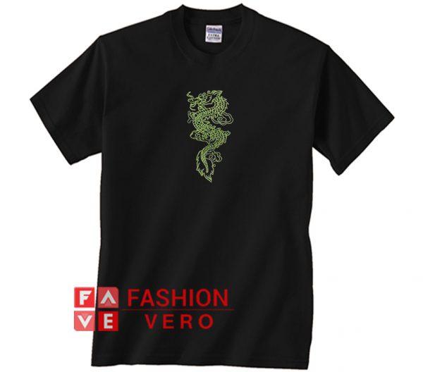 Neon Dragon Unisex adult T shirt