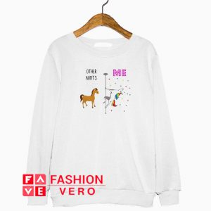 Other Aunts and me horse and LGBT Unicorn Sweatshirt