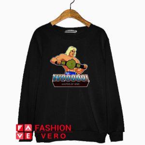 Ric Flair Woooo masters of WWE Sweatshirt