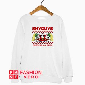 Shyguys burgers and fries Sweatshirt