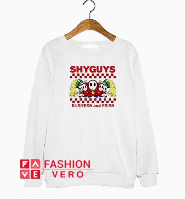 Shyguys burgers and fries Sweatshirt
