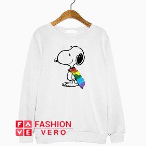Snoopy LGBT Pride Sweatshirt