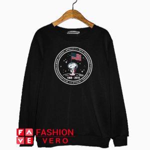 Snoopy moon landing Apollo 11 50th Anniversary Sweatshirt