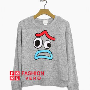 Toy Story 4 Forky Worried Face Sweatshirt